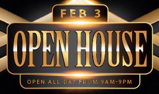 Open House – February 3, 2018