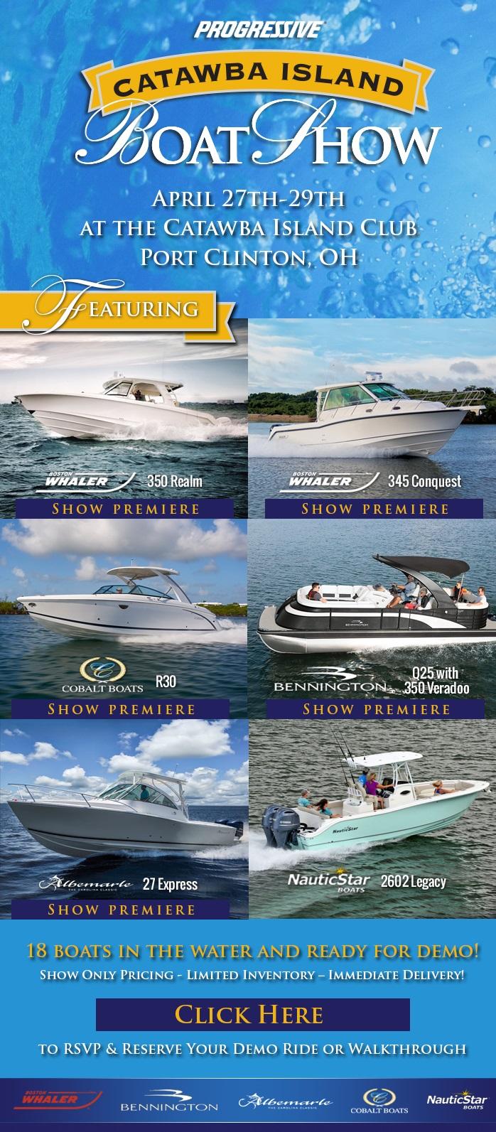 Catawba Island Boat Show Clemons Boats