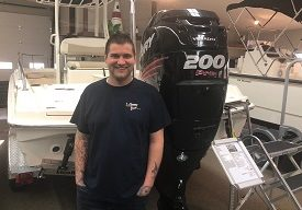 Jimmy Mosher - Service Technician at Clemons Boats in Sandusky, Ohio