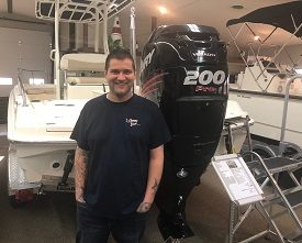 Jimmy Mosher - Service Technician at Clemons Boats in Sandusky, Ohio