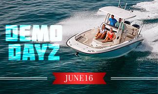 Clemons Boats Demo Dayz June 16. 2018